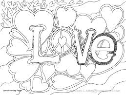 Free Coloring Pages Love Quote Valentine