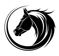 tribal horse head clip art. Interesting Art CuteHorseheadtattoojpg For Tribal Horse Head Clip Art B