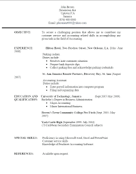 How To Create A Resume For Job – Resume Bank