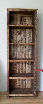 Corner Bookcase Plans Best 20 Rustic Bookshelf Ideas On Pinterest Bookshelf Diy Diy