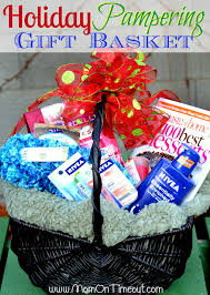 holiday pering gift basket