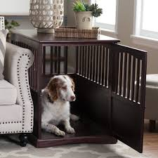newport pet crate end table inuse wooden living furniture altra owen desk black glass and chrome