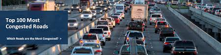 top 100 most congested roads which roads are the most congested