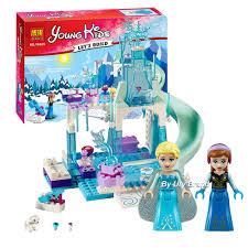 Disney Bộ Đồ Chơi Lắp Ráp Lego Công Chúa Elsa Anna 10736, Giá tháng 2/2021
