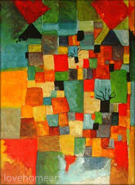 paul klee s southern garden repro paul klee hand painted oil painting reion for office