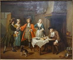 The Marriage Contract Painting Jan Josef Horemans The Elder Oil