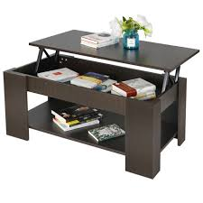 Oak coffee table with display drawer. Brown Wide Top Display Coffee Table 2 Drawers Storage Living Room Furniture For Sale Online Ebay