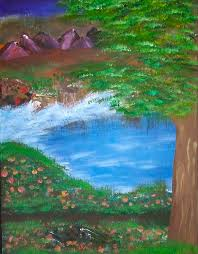 Trail of Wonder Painting by Jeannette Smith