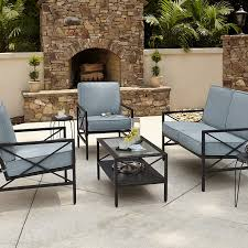 sophisticated blue chairs and patio table kmart patio with jaclyn smith patio set
