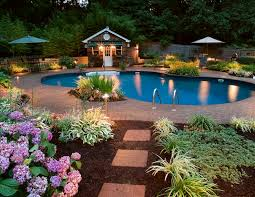 landscape lighting beautiful outdoor lighting