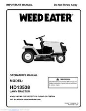 weed eater hd13538 operator's manual pdf download Weed Eater Riding Lawn Mower at Weed Eater Riding Mower 42 Manual