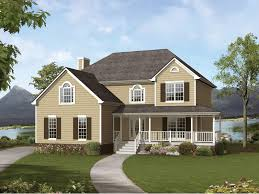 Southern Style Homes With Wrap Around Porch Modern 27 Country Classic Country Style Homes