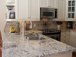 Wonderful Cashmere White Granite Countertop for Modern Home