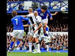 Everton v Fulham in the Premier League. Pictures Jason Roberts - Liverpool  Echo