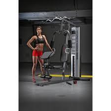marcy pro mwm 988 home gym system 150 pound adjule weight stack machine com