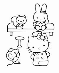 Kleurplaat Hello Kitty Nieuw Hello Kitty Kleurplaat Spelletjes