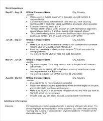 Mba Application Resume Sample Admission Curriculum Vitae Resume
