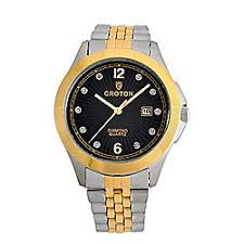 shop croton watches watches online evine quickview more choices available croton men s