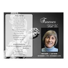 Download Free Funeral Program Templates Video Dailymotion. Funeral ...