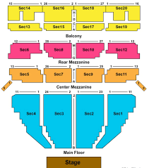 Fox Theater Seating Chart View Beacon Theater Seat Online Charts Collection