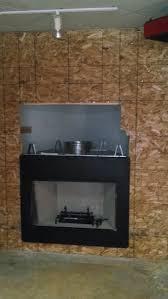 decor astria gas zero clearance fireplace