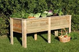 9 wooden planters