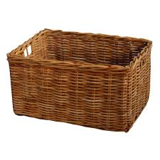 office storage baskets. Office Storage Baskets. Rectangular Honey Rattan Deep Wicker Baskets A