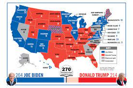 TIME for Kids   Who's Winning the Electoral College?