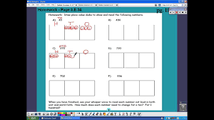 Draw Place Value Disks On The Place Value Chart Grade 2 Module 3 Lesson 13 Hw