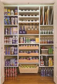 Furnitures:Amazing Brown Kitchen Pantry Cabinet Design Idea With Plastic  Box As Storage Idea Closet
