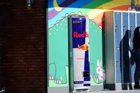 Red Bull Vending Machine Cool ESPN X Games LA 48