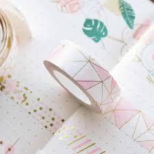<b>10PCS Glitter Washi Tape</b> Stationery Scrapbooking Decorative ...
