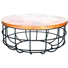 copper drum table round copper coffee tables copper drum table side tables hammered side table hammered