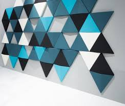 moulded acoustic wall panels