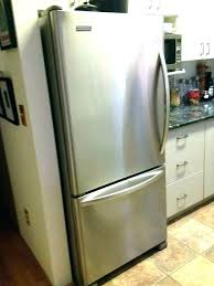 kitchenaid fridge freezer leaking water kitchen ideas