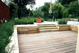 timber retaining wall ideas timber retaining wall design surprise retaining wall timber outdoor landscaping sleeper surprise