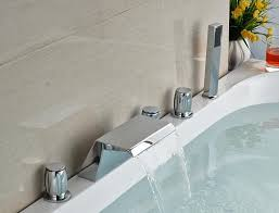 image of bathtub faucet handle stuck