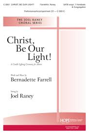 Christ Be Our Light Choir Christ Be Our Jr Satb Hope Publishing Company