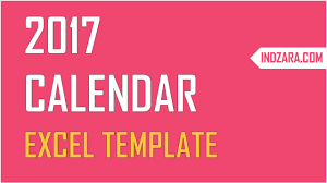 Create A Calendar Template Excel Calendar Template Create Your Own 2017 2018 Or Any Year Calendar In Excel