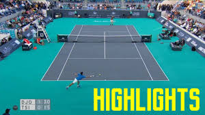 Novak Djokovic vs Stefanos Tsitsipas Highlights - Abu Dhabi 2019 (HD) -  YouTube