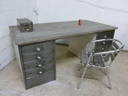 vintage steel furniture. Image Of: Metal Office Desk Vintage Steel Furniture R