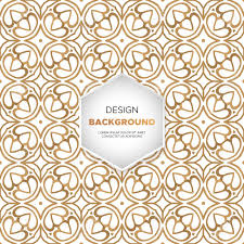 Mandala Design Background Luxury Ornamental Mandala Design Background In Gold Color Vector