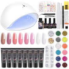 cooserry poly gel nail kit 8