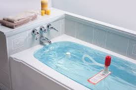 use your bathtub for an emergency water supply