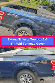 tri fold truck bed cover for toolboxes