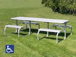aluminum picnic tables. ADA Certified Aluminum Picnic Table Tables I