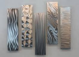panel silver wall art