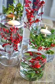 decorating styles traditional glass bowl centerpiece ideas fresh red and green winter wedding of centerpie