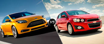 Ford Focus vs 2015 Chevy Sonic