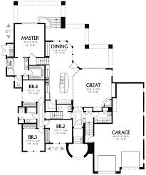 plan w16336md spanish styling for side slope lot e for side sloping house designs